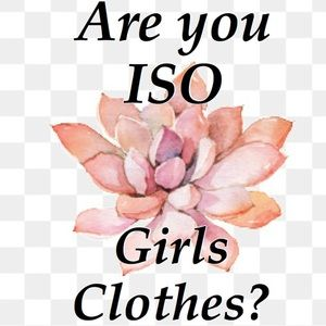 Other - Are you ISO Baby Girl or Toddler Girl Clothes?